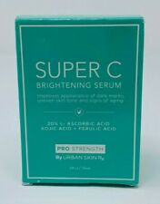 Urban Skin Rx Super C Brightening Serum 1 fl oz - 20% L-Ascorbic Acid, Kojic +++