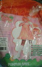 Fruity Licious Pumpkin Spice Girls Halloween Costume Sz L Girls