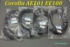 '91-95 TOYOTA Corolla E100 AE100 EE101 AE101 EE100Door weatherstrip seal   4 pcs