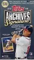 Topps MLB Archives Signature Series Box Break 1-random Team