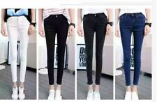 PLAIN CASUAL SKINNY JEANS (BLACK)  SIZE 29