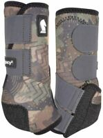 Classic Equine Legacy2 Horse Medicine SMB Sport Boots Camo Front or Hind
