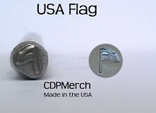 American Flag Metal Design Stamp CDPMerch Metal Punch For Jewelry Blanks