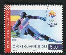 CROATIA 2002 WINTER OLYMPICS SALT LAKE CITY/EMBLEM/SPORT/SKI