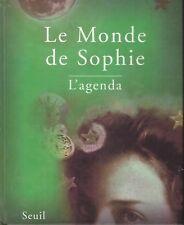LE MONDE DE SOPHIE AGENDA GAARDER + PARIS POSTER GUIDE