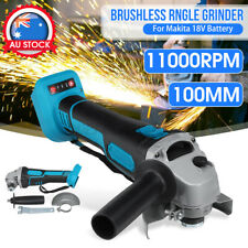 AU 100/125mm Cordless Brushless Angle GRINDER REPLACES For Makita 18V