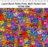 Clothworks Laurel Burch FELINE FROLIC Cats Y298-55M - BTHY * BUY MORE SAVE MORE