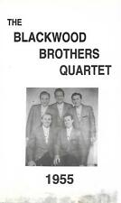 "THE BLACKWOOD BROTHERS QUARTET.......""1955""........RARE HTF OOP GOSPEL VHS VIDEO"
