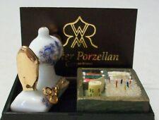 REUTTER PORZELLAN DOLLHOUSE MINIATURE SEWING MACHINE NEW MINT