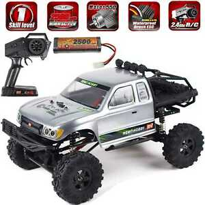 REMO Hobby Rock Crawler 1/10 4WD RC Monster Truck Off-Road Brushed RC Car 1093ST