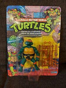 Vintage TMNT Teenage Mutant Ninja Turtles Michaelangelo MOC 1989 20 Back
