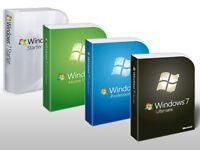 Microsoft Windows 7 ULTIMATE Vollversion 32 & 64 Bit Key OEM + GRATIS DVD