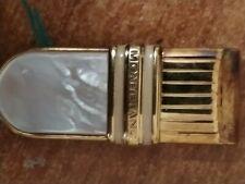 fermasoldi montblanc in argento
