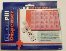 Deluxe Pill Dispencer-Holds Seven Days of Pills-In Braille-New