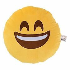 Love Bomb Cushions 0004 Smiley Emoji Cushion