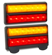 LED BOAT TRAILER LIGHTS WITH NUMBER PLATE LIGHT 207BAR