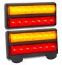 LED BOAT TRAILER LIGHTS WITH NUMBER PLATE LIGHT 207BAR