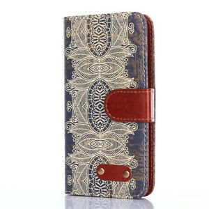 Handytasche Samsung Sony Schutzhülle Hülle Book Wallet Etui Case Floral Motiv