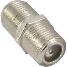 InLine® SAT F-Verbinder (Doppelbuchse, F-Kupplung), 1 Stück