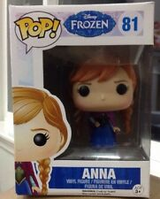 New Funko Pop Disney Frozen Vinyl Action figure Anna #81 Retired!