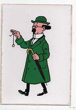 Carte postale adhésive Hergé. Tournesol au pendule. Etat neuf