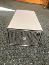 G-Technology G-RAID 8TB 2-Bay Thunderbolt 3 RAID Array (2 x 4TB) G-Tech open box