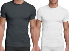 Calvin Klein Men T-Shirt Crew neck Micro  Modal Liquid Slim Fit Ck U5551