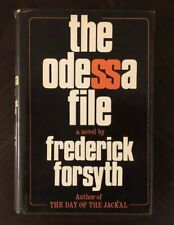 The Odessa File by Frederick Forsyth (1972, Hardcover) BCE FREE SHIPPING