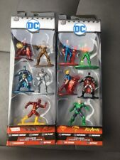 Nano Metalfigs DC Packs A & B- 5 pack figure collectors set 100% Die-cast metal