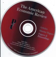 The American Economic Review (3/2010 - 2/2012 Articles Papers Proceedings CD)