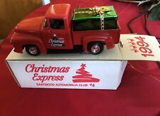 CHRISTMAS EXPRESS 1956 FORD PICKUP  DIECAST ERTL #B967 EASTWOOD AUTOMOBILIA. NEW