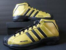 Adidas Pro Model 2G Basketball Gold/Black Men's Size M 9.5