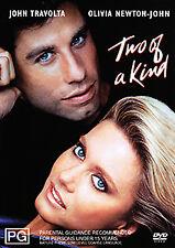 John Travolta Olivia Newton-John TWO OF A KIND DVD