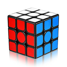 Speed Cube 3x3x3 with New Anti-pop Structure Smooth Puzzle for Professional