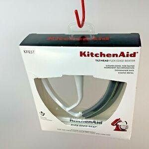 KitchenAid KFE5T Tilt-Head Flex Edge Beater For 4.5/ 5 Qt Mixers Reduce Mix Time