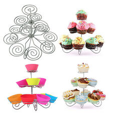 Tier Muffin Cakes Cupcake Stand Holder Tower Decorating Supplies Baking Tools