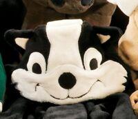 """Berkshire Blanket Cuddly Buddies - Big Game Skunk - Kids Throw 40"""" x 50"""" NEW"""