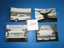 N°15001 / DKW F 12 /   4 photos constructeurs avec légende deutsch text