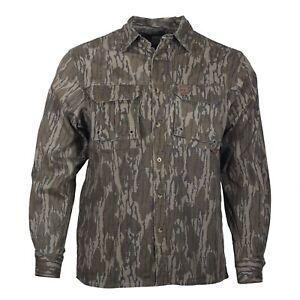 Mossy Oak Gamekeeper Long Sleeve Button Down Dirt Shirt