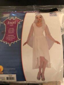 Halloween Costume Woman's Angel Medium or Large New