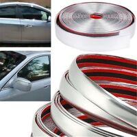 5Mx25mm Chrome Silver Moulding Trim Car Window Review Mirror Decoration Strip AU