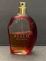 REALM Women by Erox 1.7 oz 50 ml Eau de Toilette Spray ORIGINAL FORMULA 50% FULL