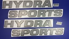 """Hydra-sports boat Emblem 44"""" black gray + FREE FAST delivery DHL express"""