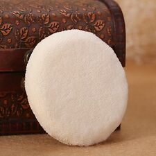 Flawless Makeup Blender Beauty Cotton Foundation Pressed Puffs Shape Best VV 1pc