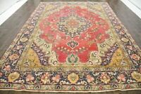 100% Wool Extra Large Handmade Rugs Traditional Medallion Area Carpets 266X380CM