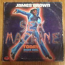 JAMES BROWN / SEX MACHINE TODAY Vinyl LP (1975 Polydor PD 6042)
