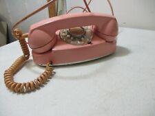 Vintage Stromberg Pink Petite Desk Phone Complete Used ( Untested)