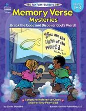 Memory Verse Mysteries, Grades 1 - 3: Break the Code and Discover God's Word