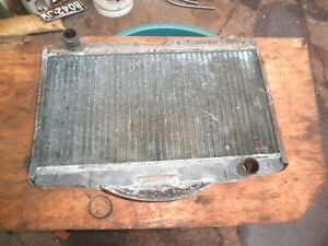 1967 Alpine Sunbeam 1725 4 cyl radiator