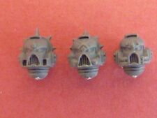 Blood Angel Marine DEATH COMPANY 3 X MARK 7 HELMETS - Bits 40K
